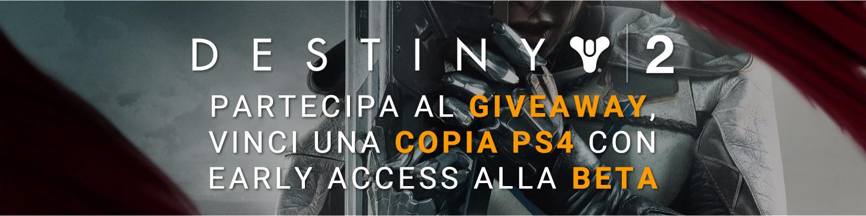 Destiny 2 Giveaway