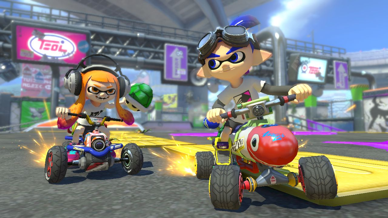 Mario Kart 8 Deluxe si mostra in due nuovi video gameplay