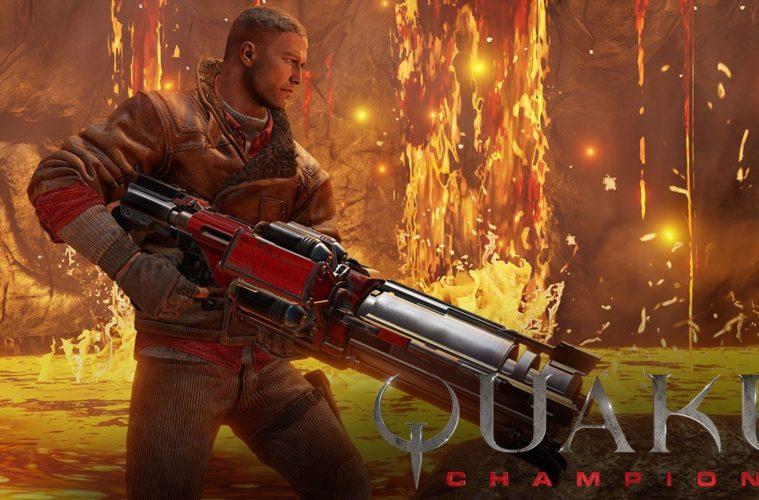 Quake Champions nel trailer dell'E3 2017 che introduce BJ Blazkowicz