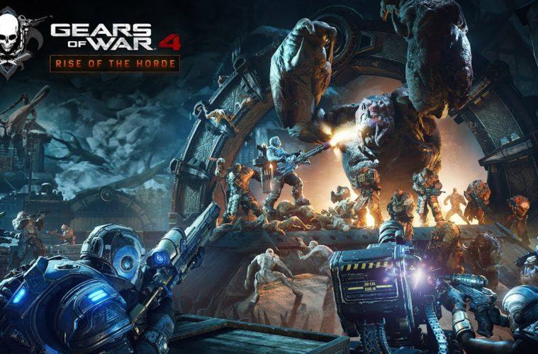 Gears of War 4 si aggiorna