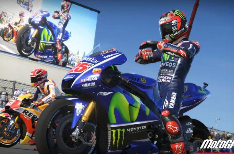 Arriva il videogame ufficiale del Campionato Mondiale MotoGP 2017