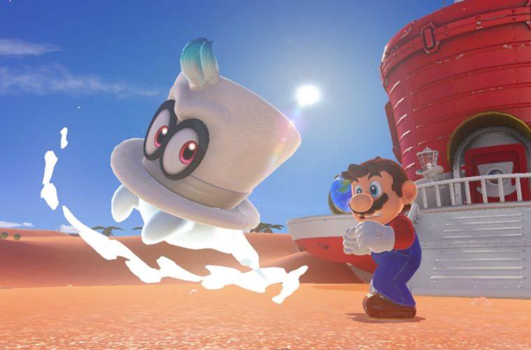 Super Mario Odyssey e l'importanza del viaggio di Mario