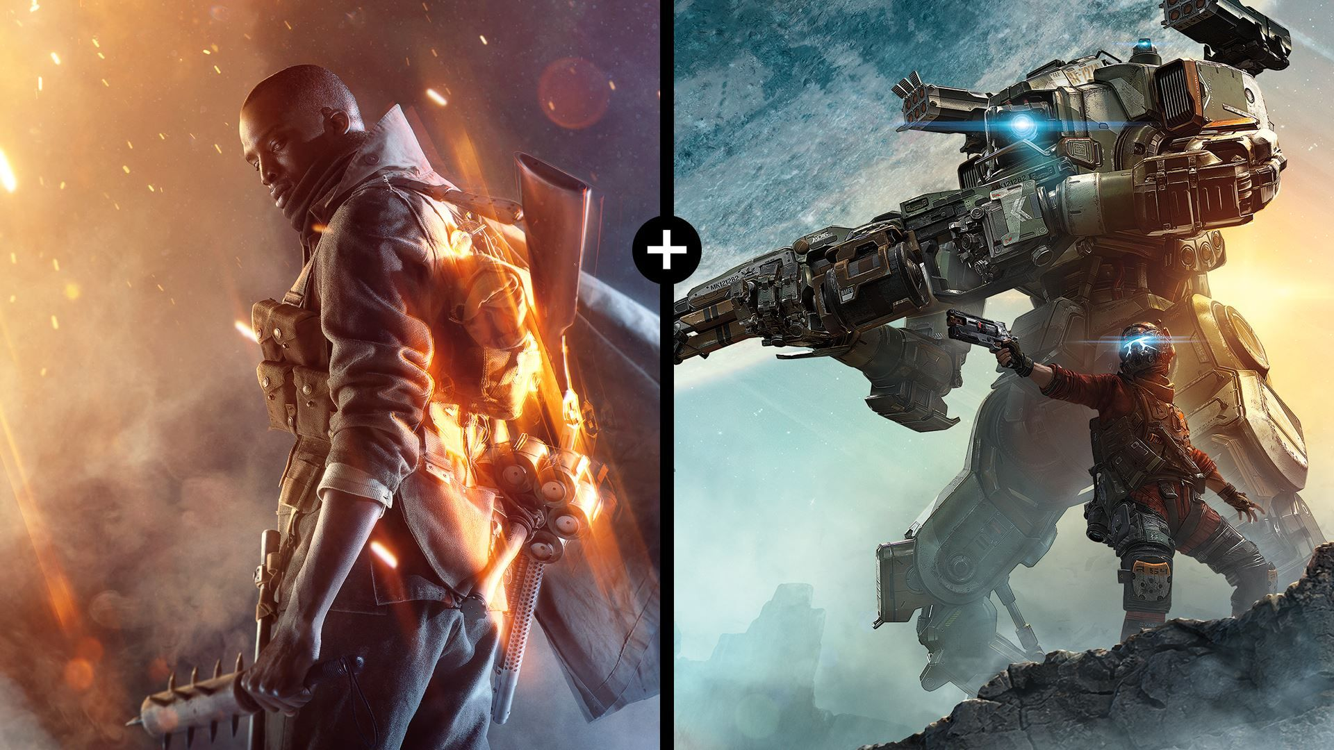 Battlefield 1 - Titanfall 2