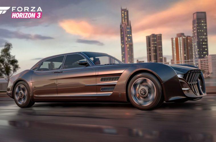 La Regalia di FFXV sfreccia su Forza Horizon 3