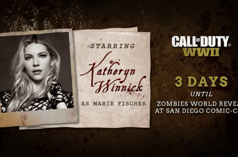 Katheryn Winnick - Call of Duty:WWII