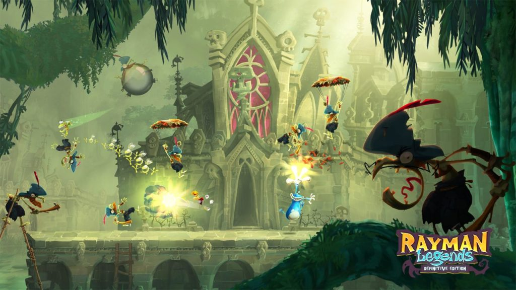 Rayman Legends disponibile su Nintendo Switch dal 12 Settembre