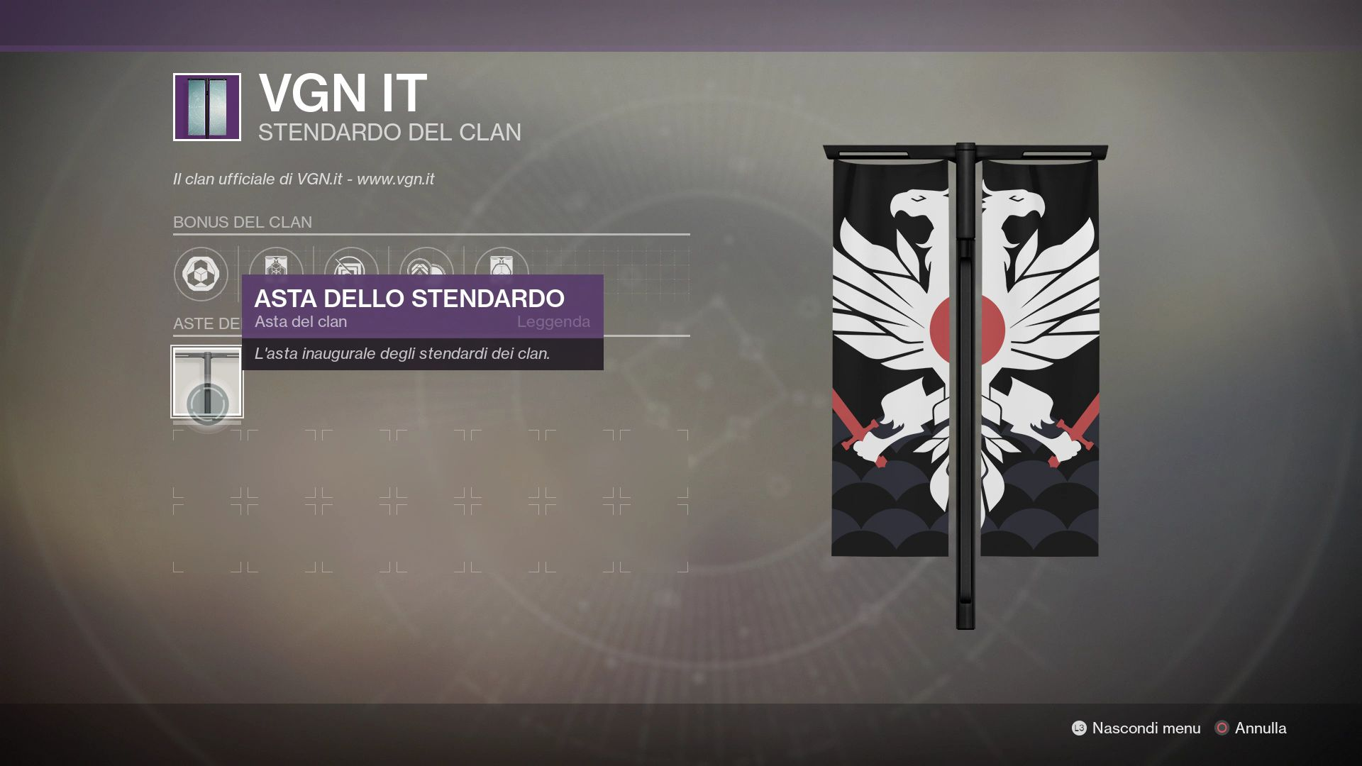 Destiny 2: Clan