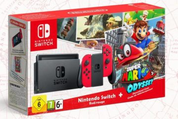 Super Mario Odyssey Switch Bundle