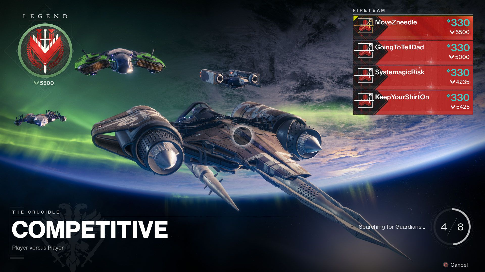 Destiny 2: Partite classificate