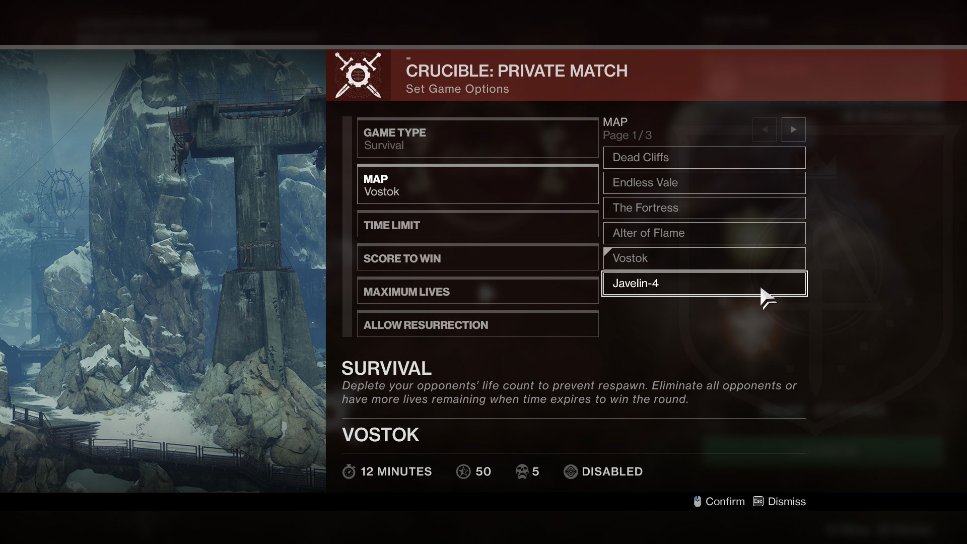 Destiny 2: Partite private