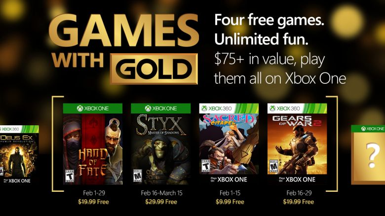Games with Gold - Febbraio 2016 - Featured