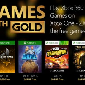 Games with Gold, i giochi di gennaio
