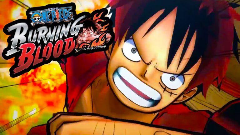 Confermato il debutto di One Piece Burning Blood