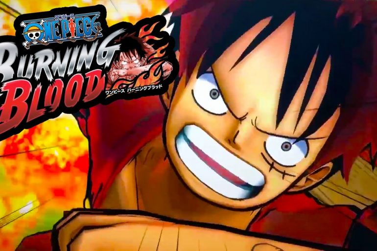 Confermato il debutto di One Piece Burning Blood