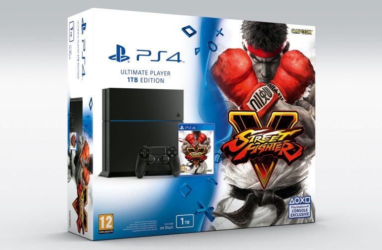 Street Fighter V in bundle con PlayStation 4