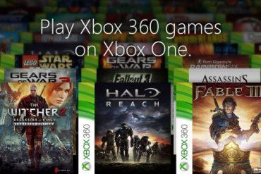 Xbox One, ecco la lista dei giochi Xbox 360 retrocompatibili di gennaio