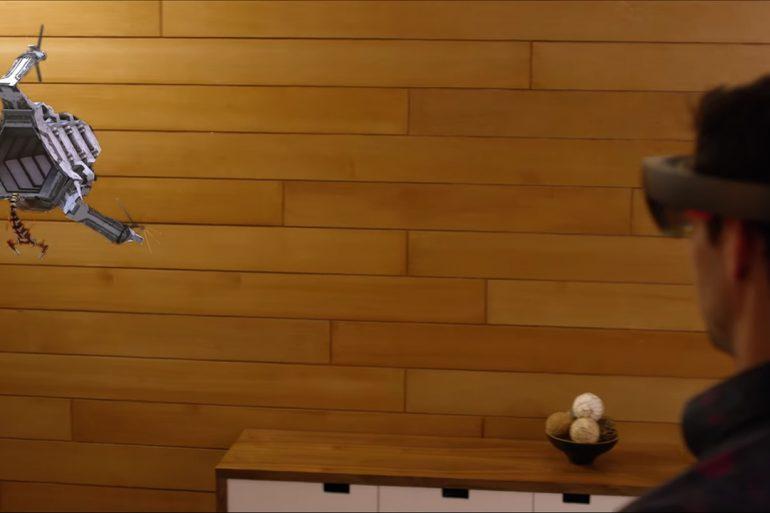 RoboRaid - HoloLens