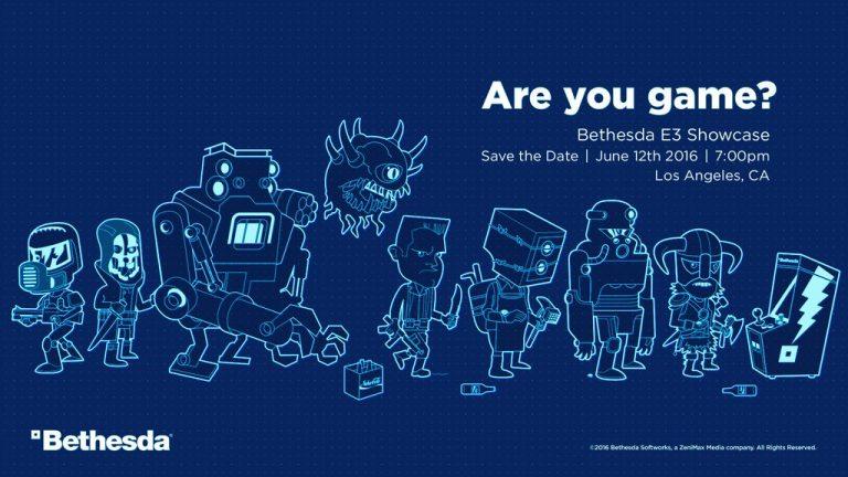 Bethesda annuncia il suo E3 2016 Showcase