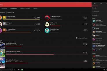 Xbox One - Windows 10
