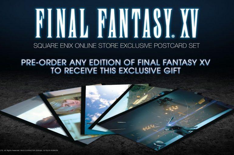 Final Fantasy XV Pre-order Bonus
