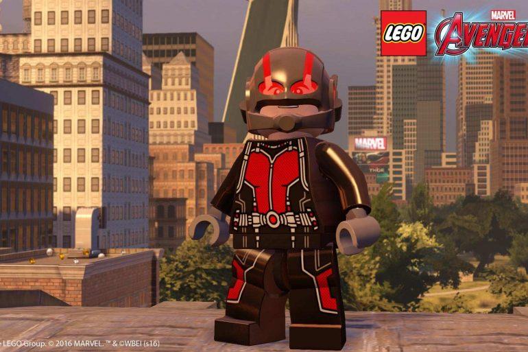 LEGO Marvel's Avengers, disponibile l'espansione di Ant-Man