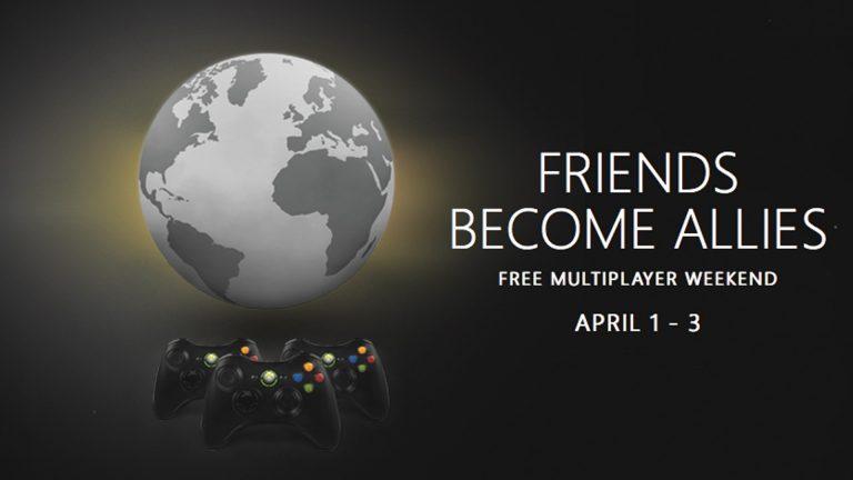 Multiplayer gratis su Xbox 360 nel weekend