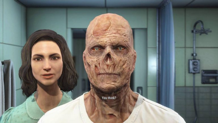 Fallout 4 Mod: Playable Ghouls