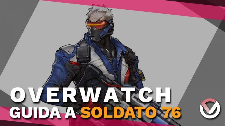 Overwatch - Soldato 76