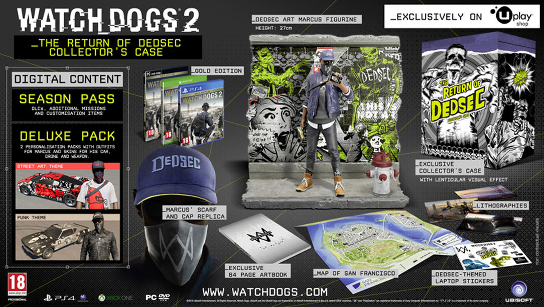 Watch Dogs  Collector S Edition Pc