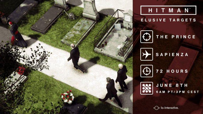 HITMAN, in arrivo il terzo Bersaglio Elusivo