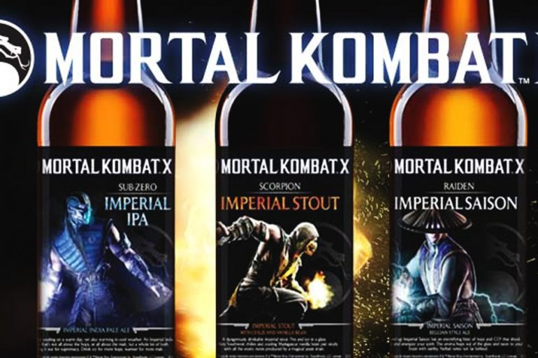 In produzione la birra ispirata a Mortal Kombat X