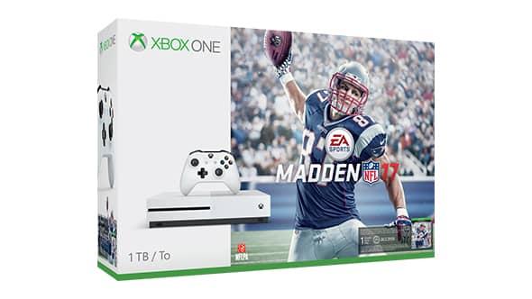 Xbox One S - Madden NFL 17