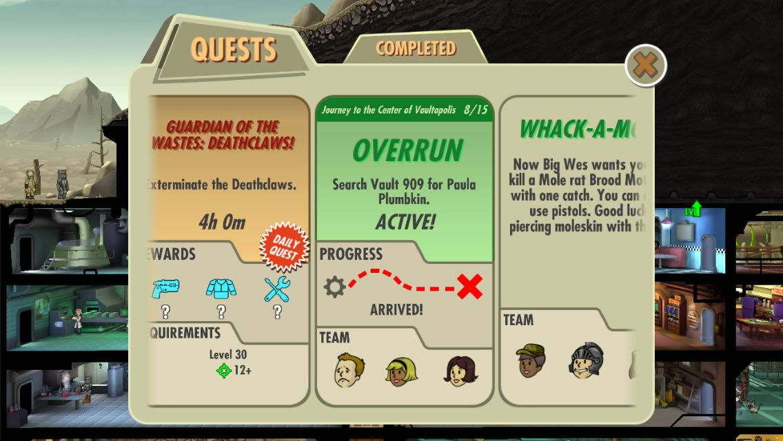 Fallout Shelter - Update 1.6