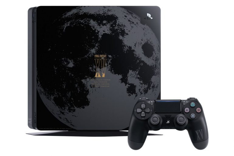 PS4 Slim Lunar Edition Final Fantasy XV