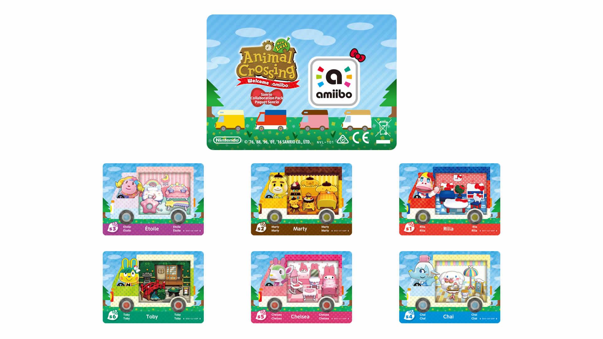 Animal Crossing: New Leaf - Welcome Amiibo
