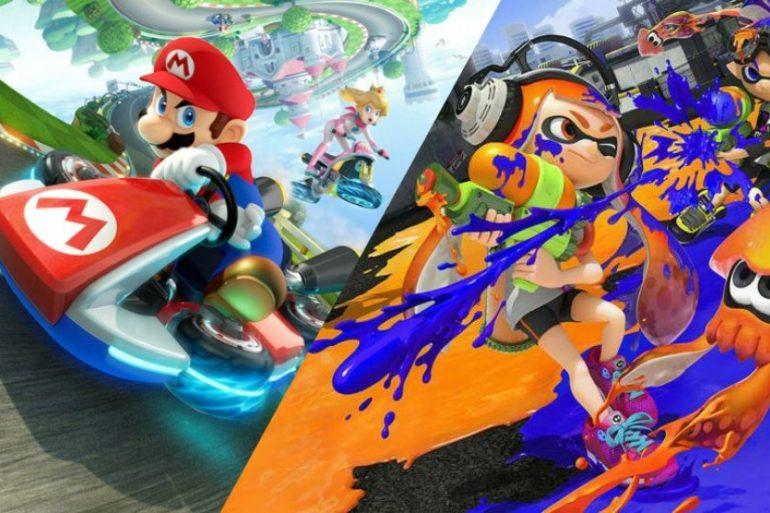 Mario Kart 8 Deluxe / Splatoon 2
