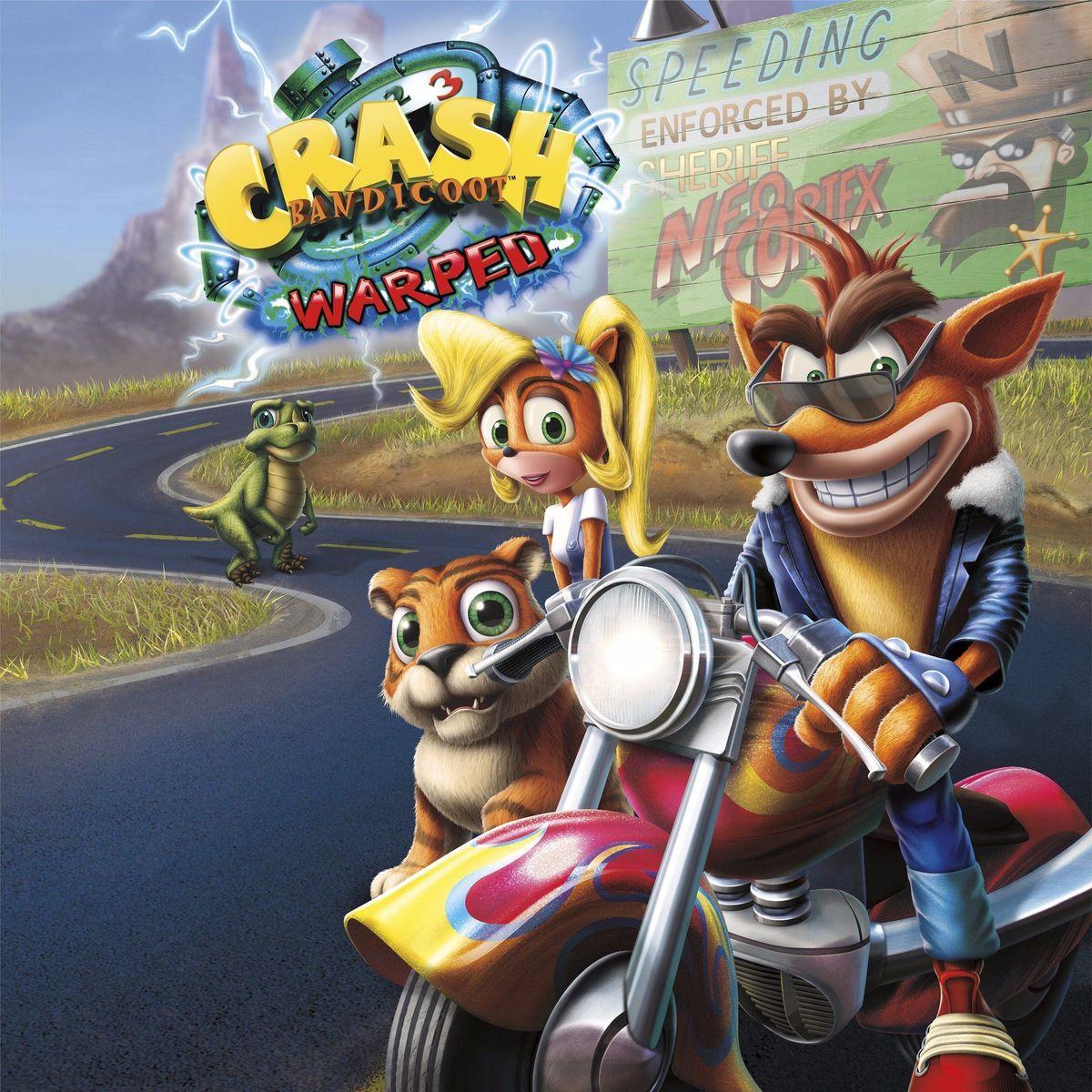 Crash Bandicoot 3: Warped - Main