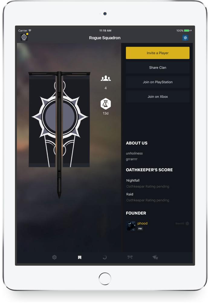 Destiny 2 - Companion App