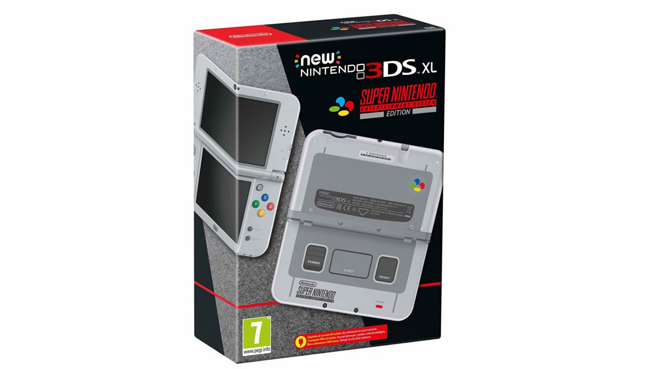 Nintendo 3DS - SNES Edition