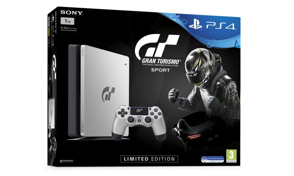 PlayStation 4 Slim - Gran Turismo Sport