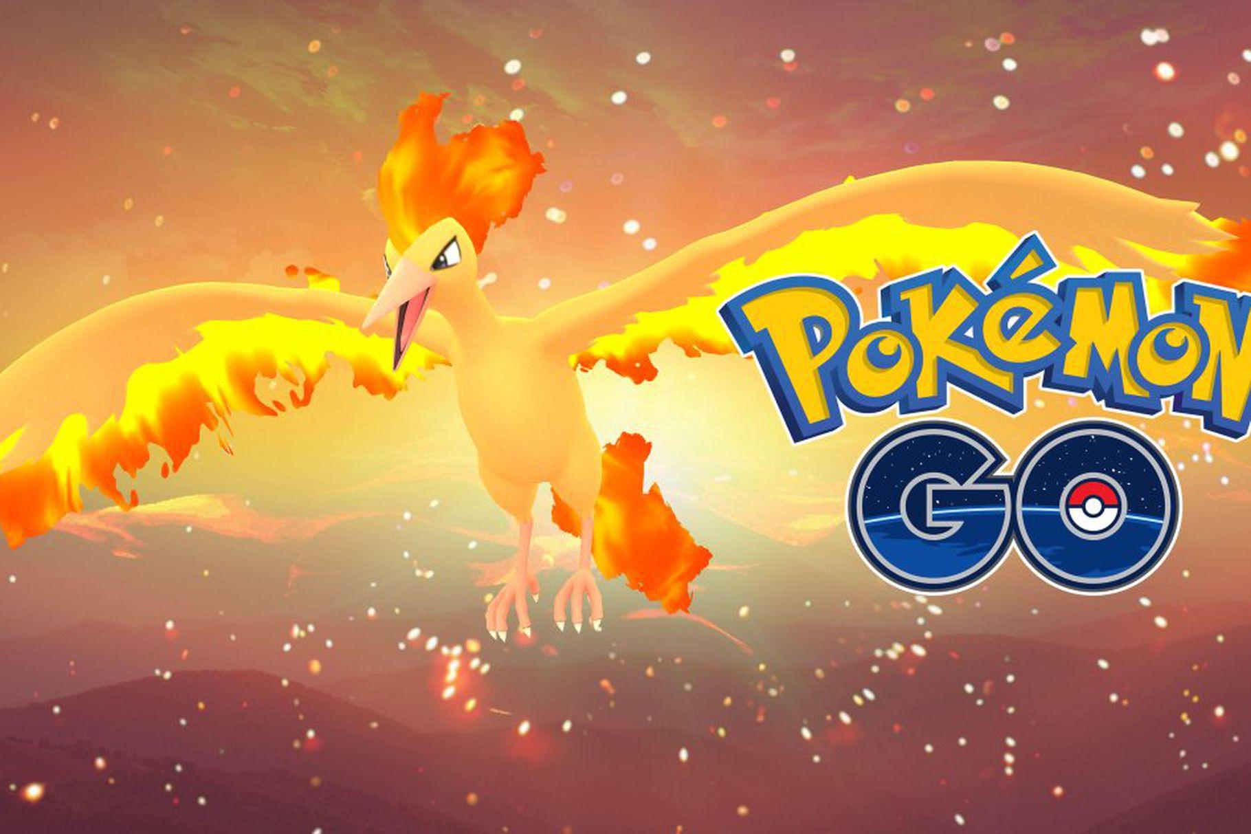 Pokémon Go: Moltres