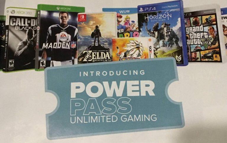 GameStop Power Pass