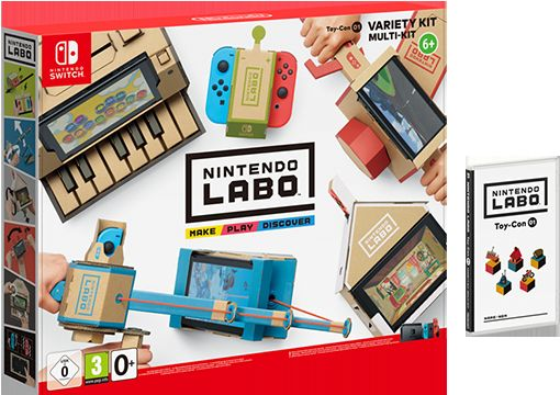 Nintendo Labo - Kit Assortito