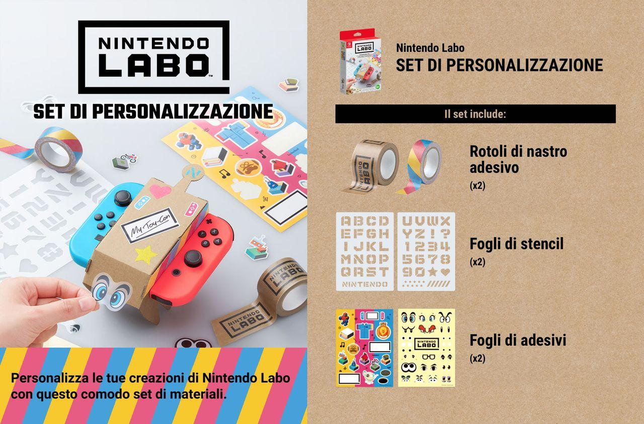 Nintendo Labo - Kit Personalizzazione