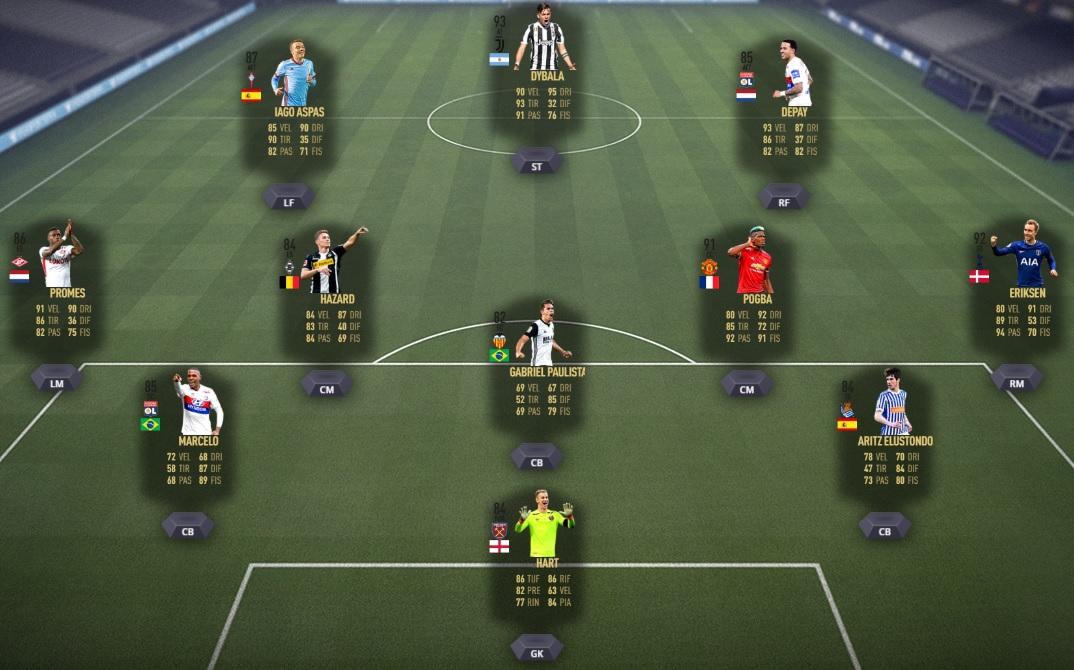 FIFA 18 - Squadra della Settimana #30