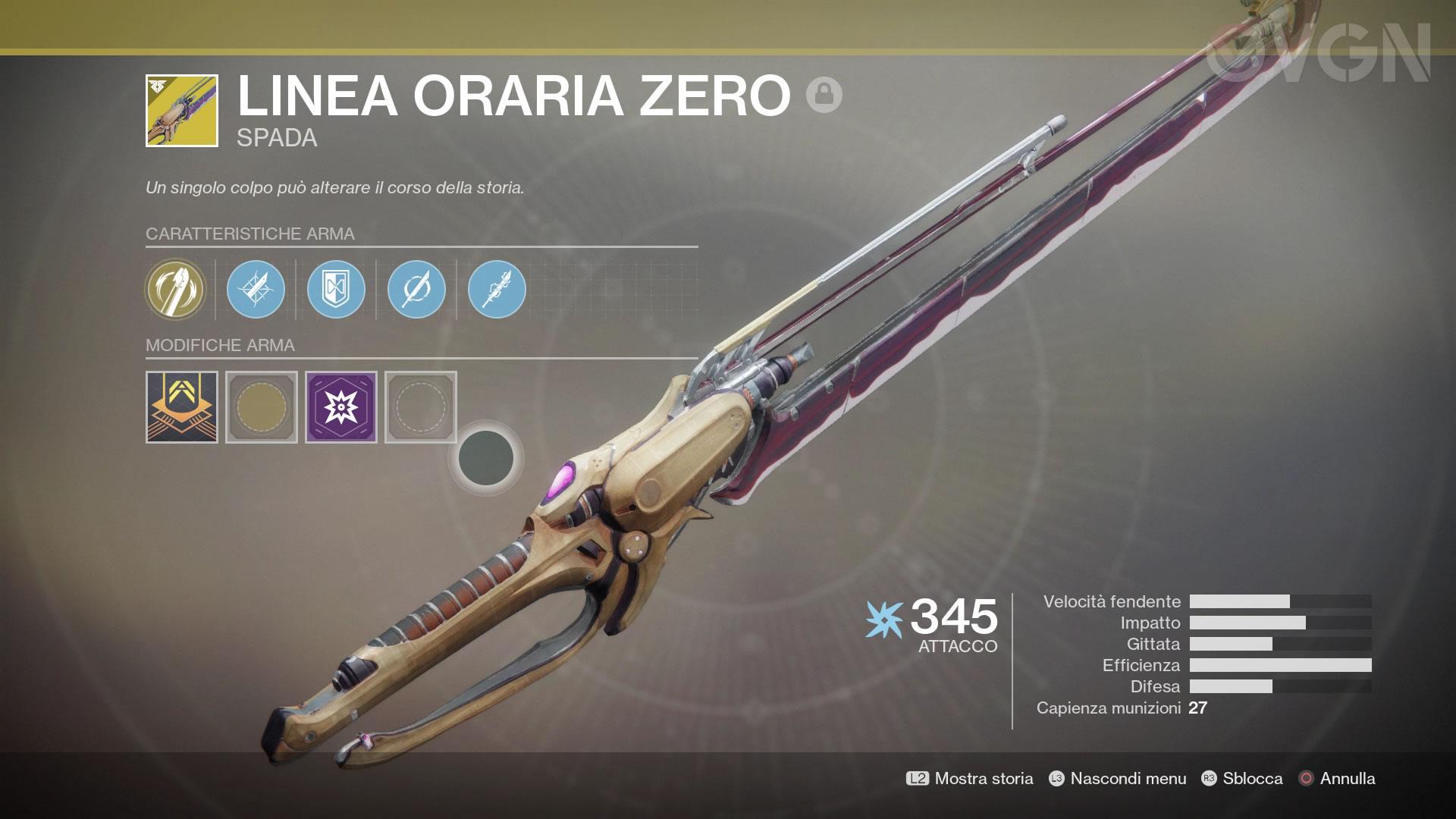 Destiny 2: La Mente Bellica - Linea Oraria Zero