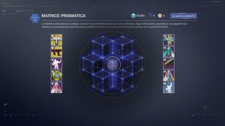 Destiny 2: Matrice Prismatica
