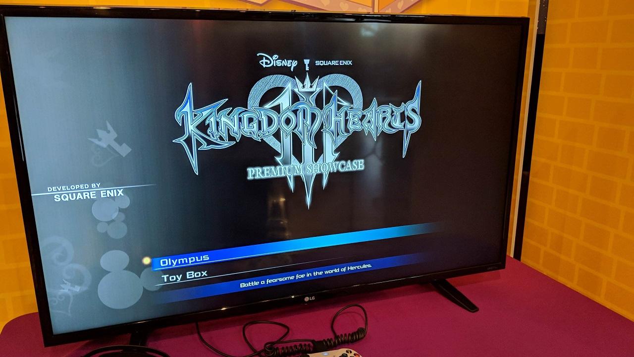 Kingdom Hearts III - Demo