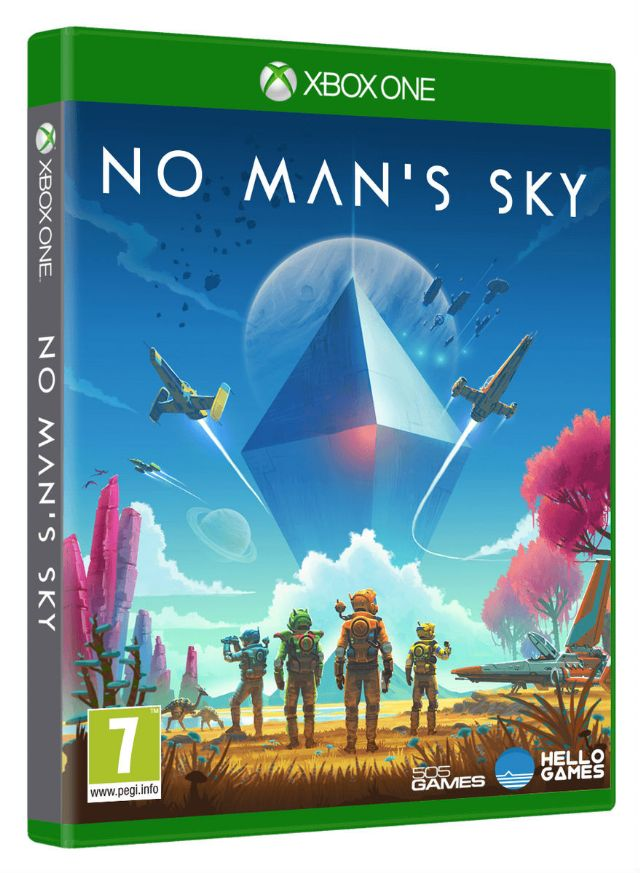 No Man's Sky - Xbox One cover
