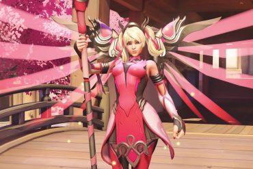 Overwatch - Mercy Pink Skin